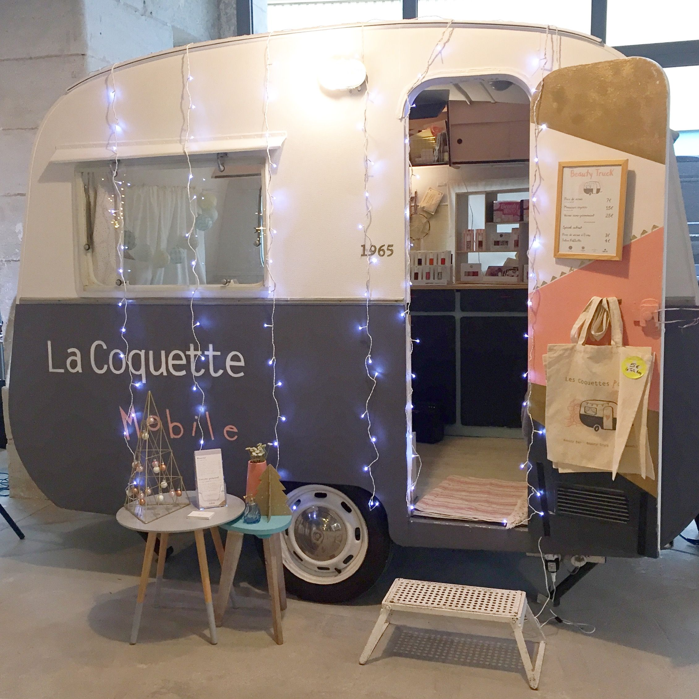 La Coquette Mobile, Beauty Truck, beauté, animation ...