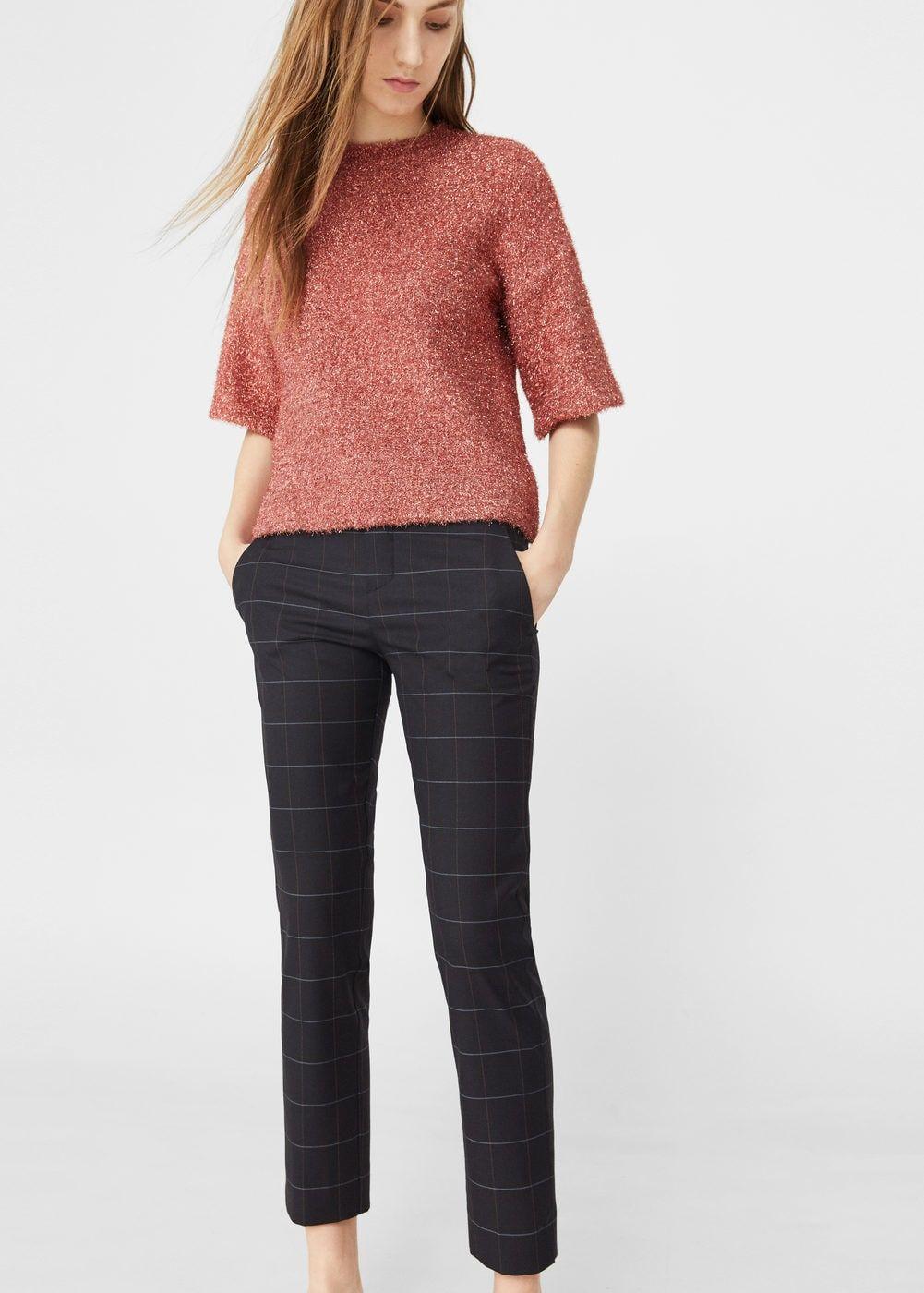 precio moderado donde puedo comprar mejor Pantalón traje cuadros - Mujer | moda in 2019 | Pants for ...