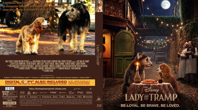 Lady And The Tramp 2019 Lady And The Tramp Cover Design Custom