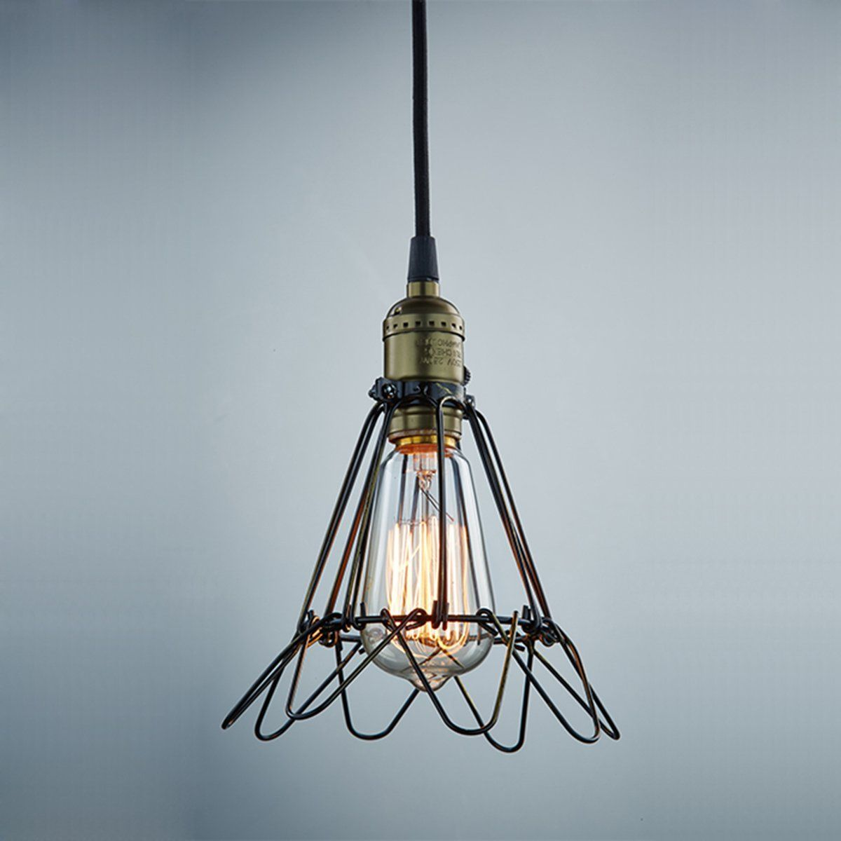 CLAXY Ecopower Industrial Opening and Closing Pendant Lighting Wire ...