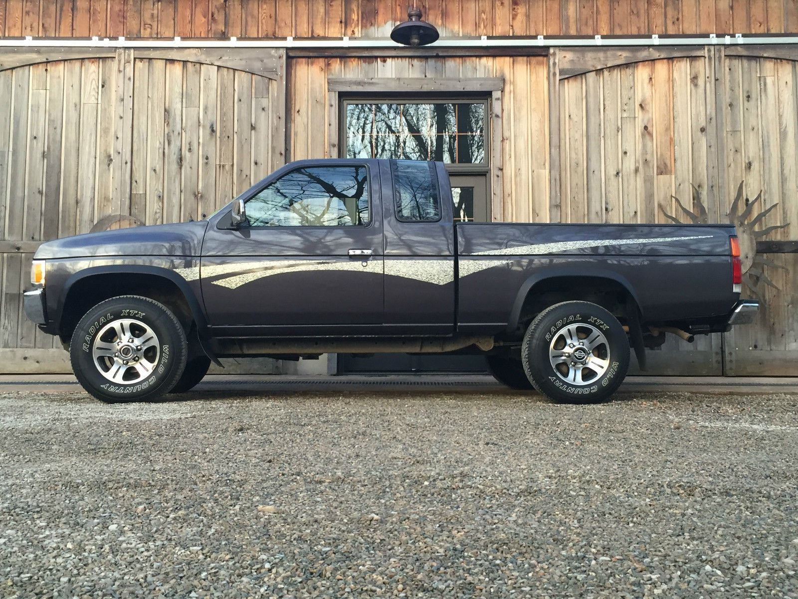 1995 nissan frontier xe hardbody pickup 4x4 2 4l pickups. Black Bedroom Furniture Sets. Home Design Ideas