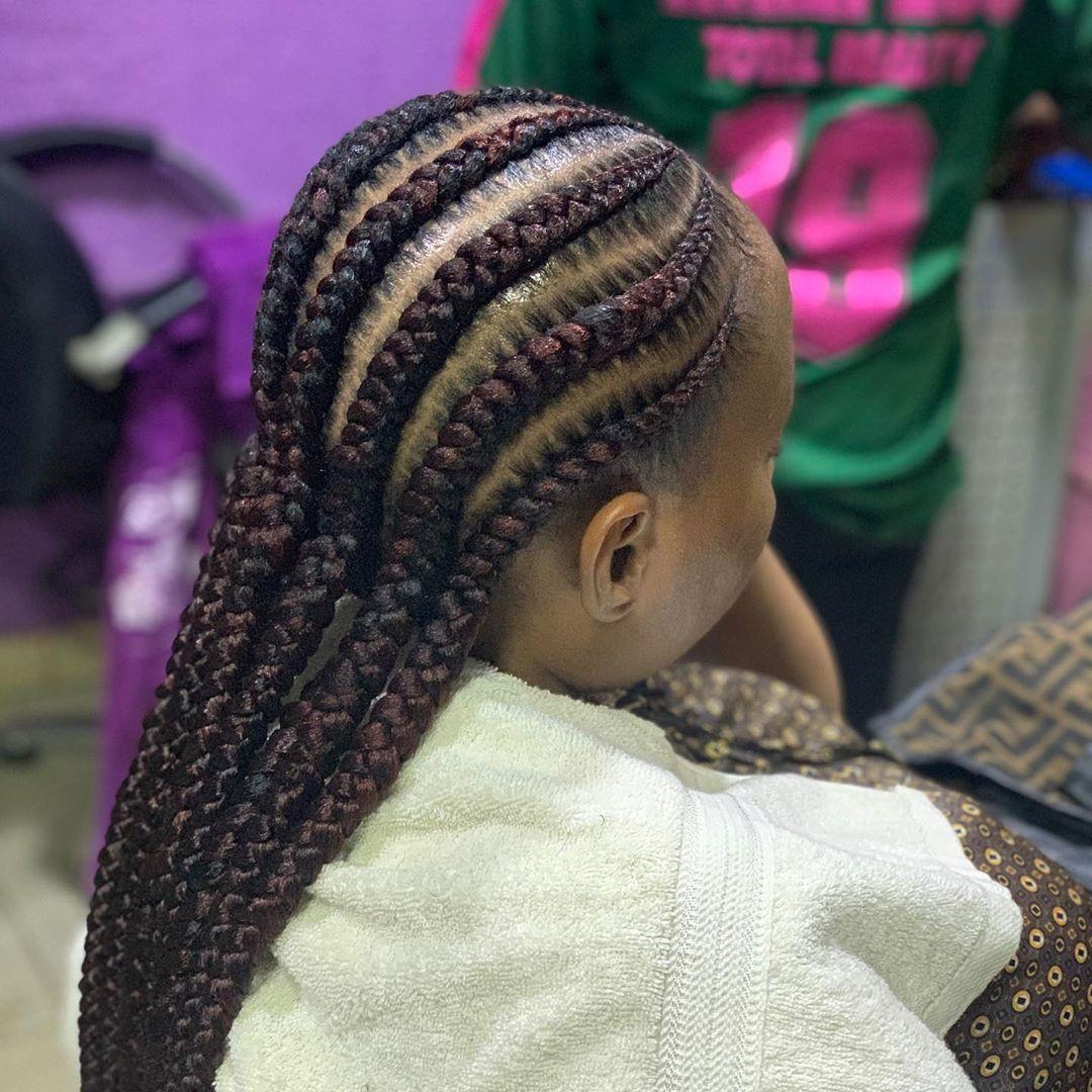 2020 Ghana Weaving Hairstyles That Can Change Your Look Beautifully | Hair styles, Cornrow braid ...