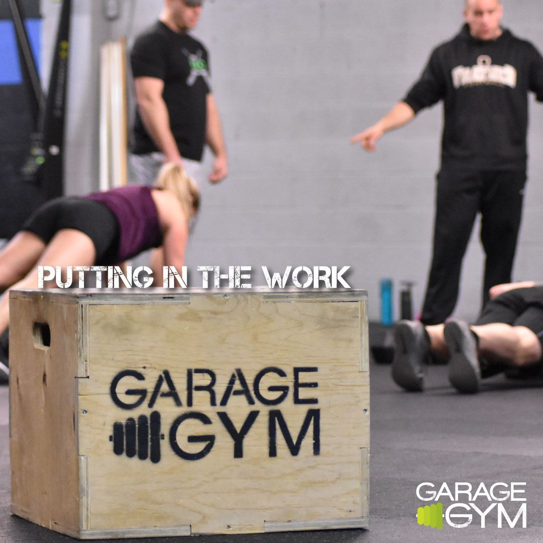 Putting in the work the garage gym style garagegymarmy