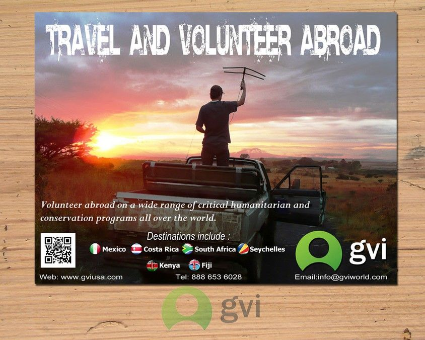 signage for Global Vision International (GVI) by kuda