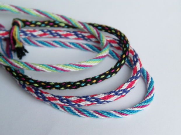 Braiding Wheel Friendship Bracelets Yarn Friendship Bracelets