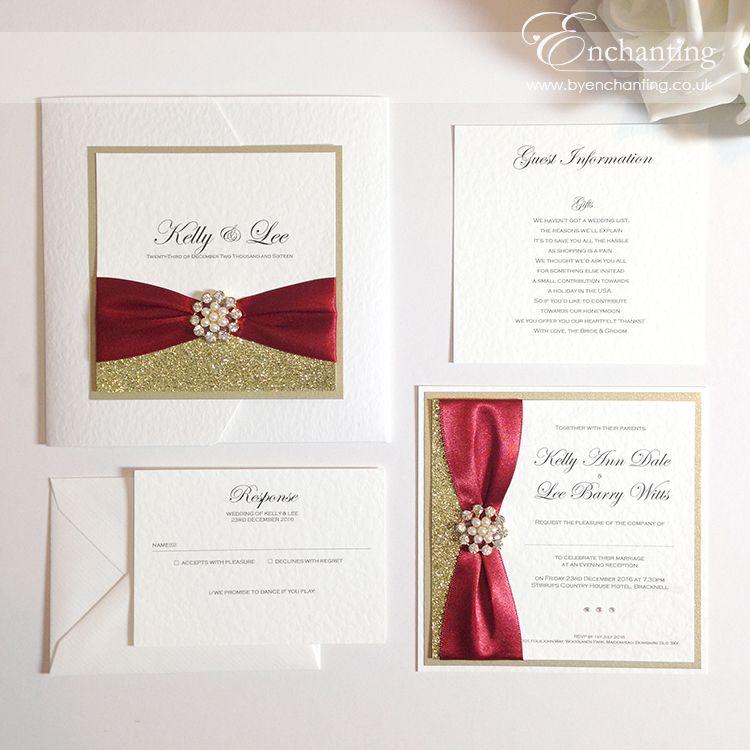 The Cinderella Collection - Pocketfold Invitation and Luxury Flat ...