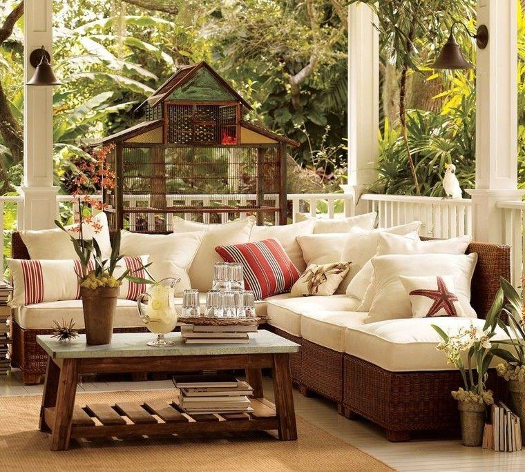 Ideas Para Terrazas Patios O Balcones Acogedores Pottery Barn Outdoor Outdoor Rooms Outdoor Living Space