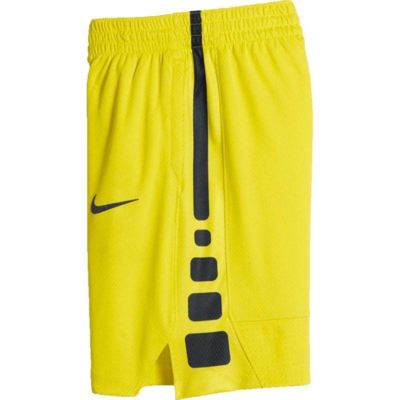 Nike Boys Dry Elite Stripe Basketball Shorts Size Medium Electrolime Basketball Shorts Nike Athletic Shorts Elite Shorts