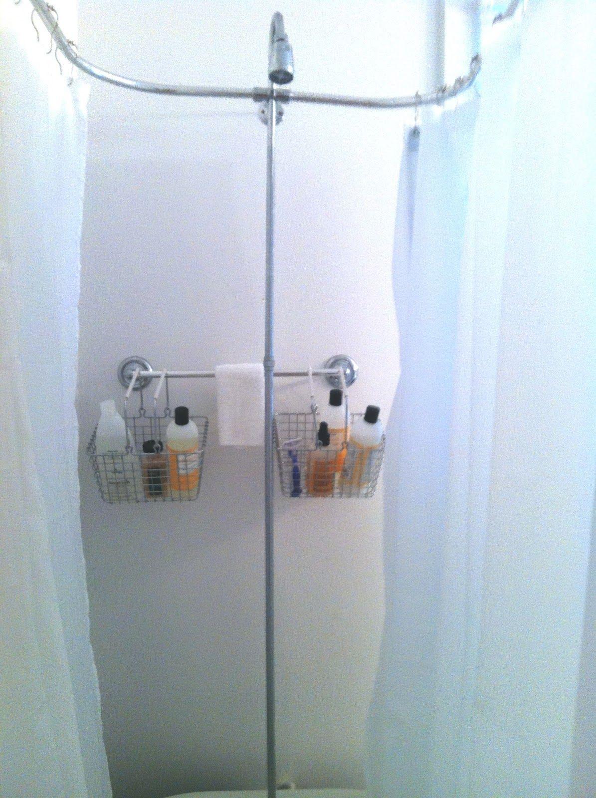 Rack For Clawfoot Tub My Clawfoot Tub Storage Solution