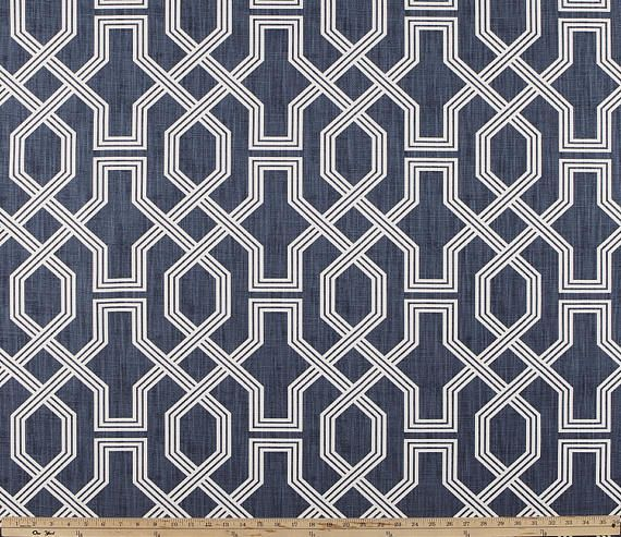 Blue Curtains Scott Living Property Brothers Pair Of Rod Linen Fabric Fabric Decor Fabric