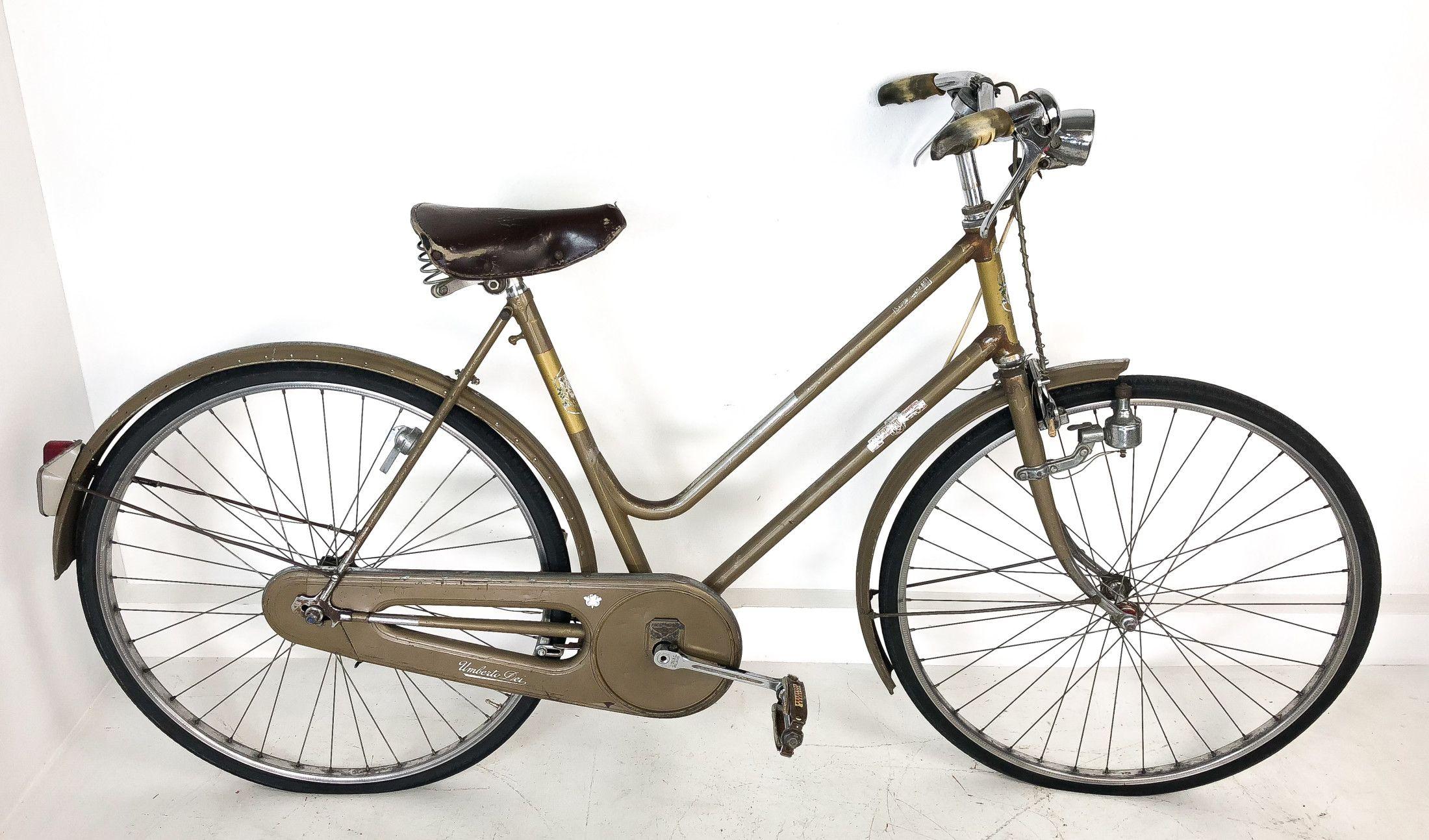 Bicicletta Umberto Dei Super Leggera Dei Milano Anni 50