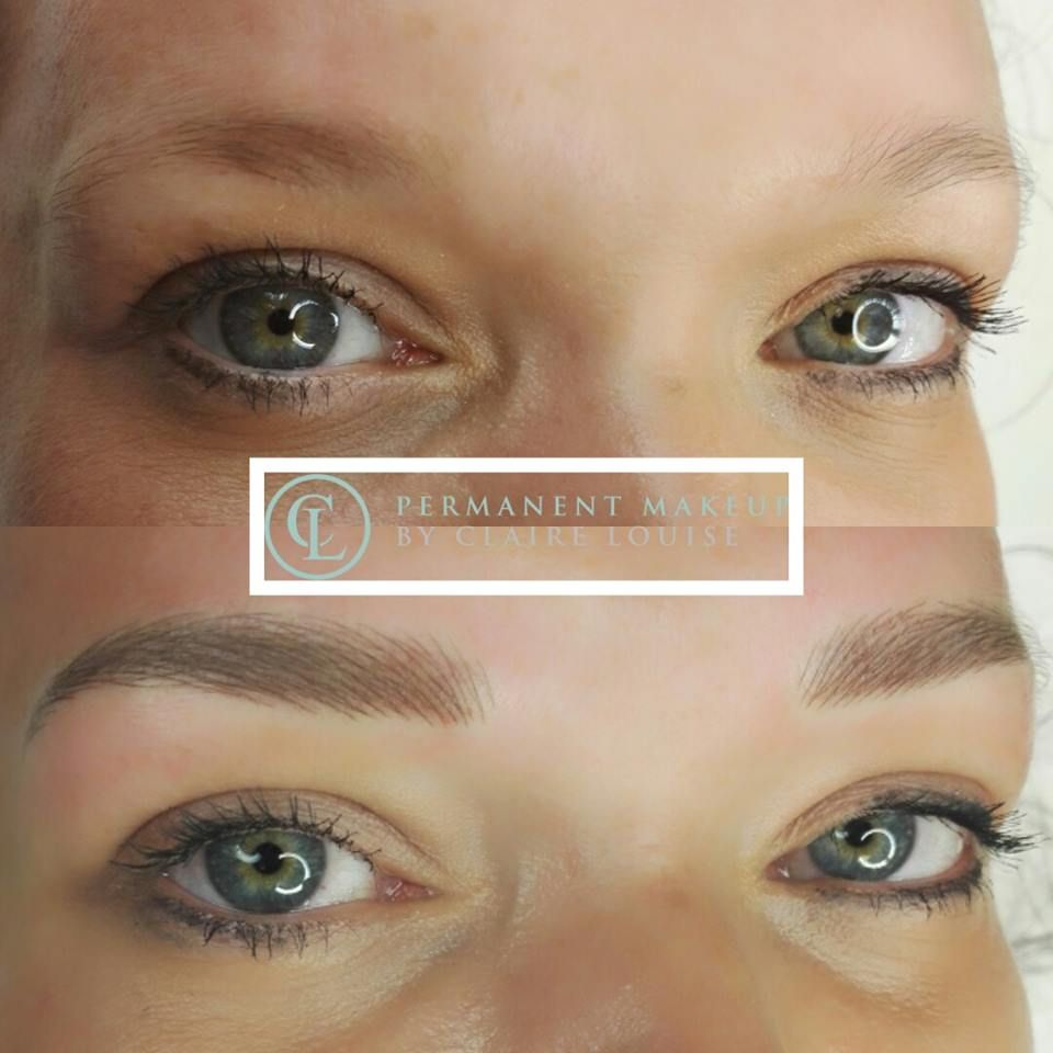 Eyebrow tattoo eyebrow enhancement hairstroke eyebrows