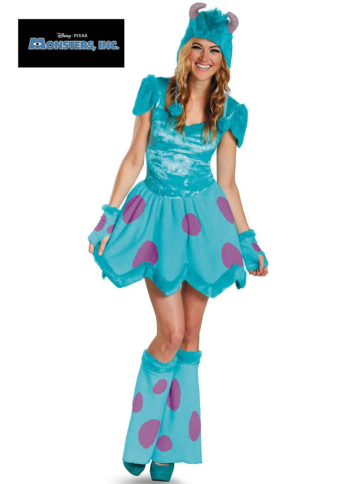 Sassy Sulley Adult Costume | Wholesale Monsters Inc Costumes for ...