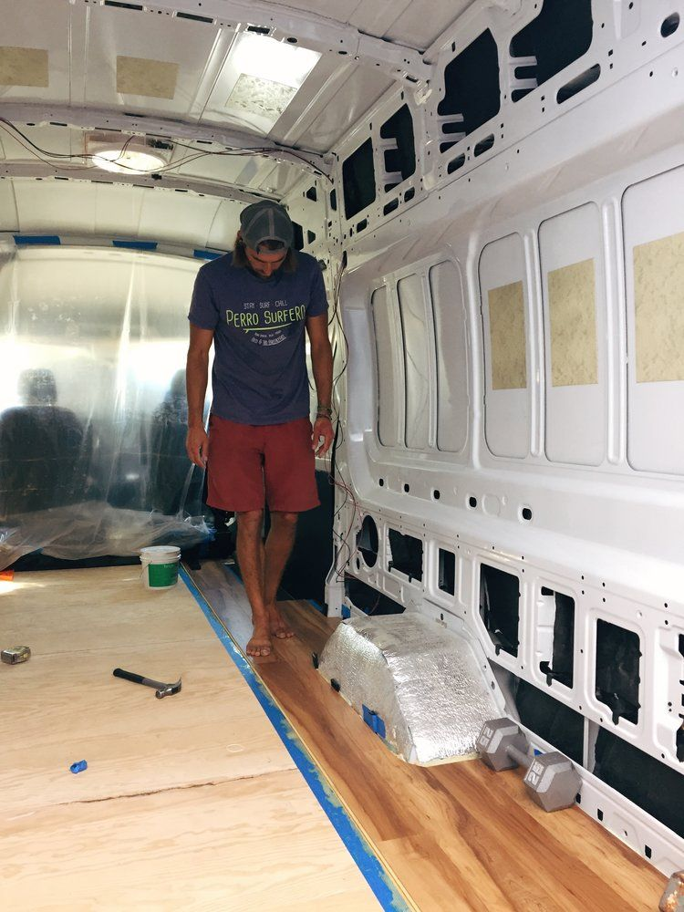 How To Installing Flooring In A Ford Transit Ford Transit Ford