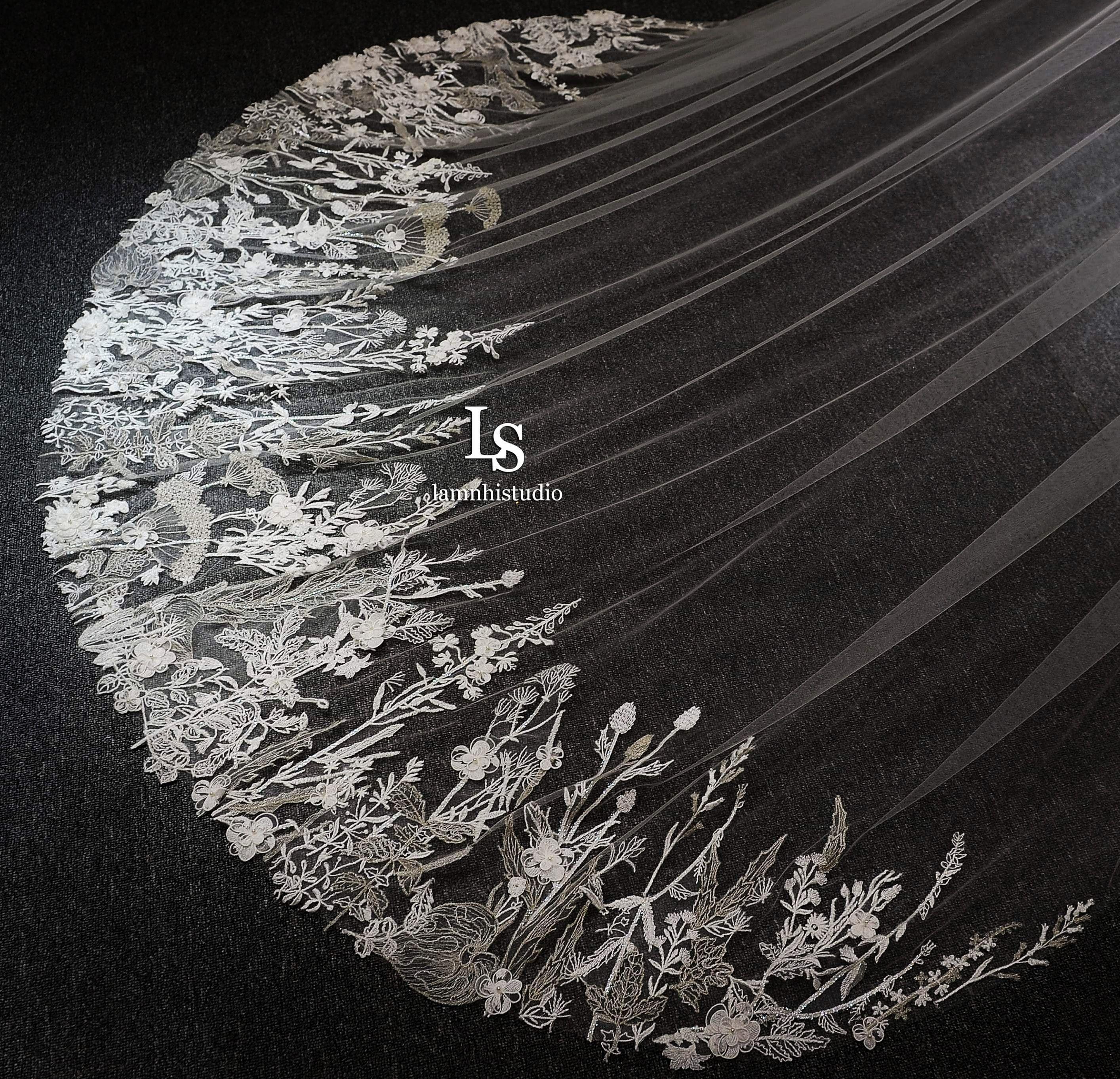 Ghim của lamnhistudio trên wedding veil trong 2020