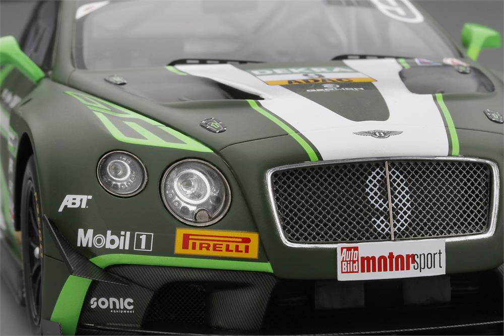 Bentley Continental Gt3 9 Adac Gt Masters Red Bull Ring 2016 Model Car In 1 43 Scale By Truescale Miniatures Car Model Bentley Continental Bentley