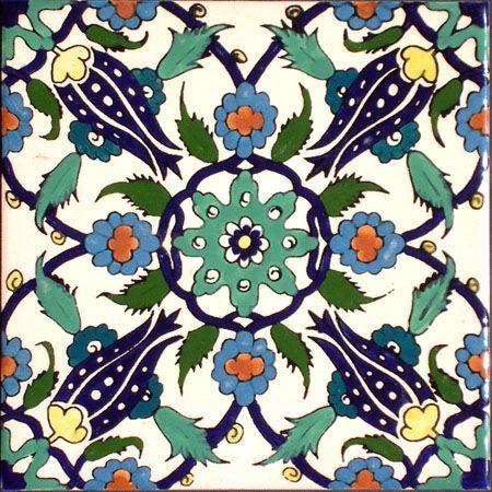 Armenian Tiles From Jerum