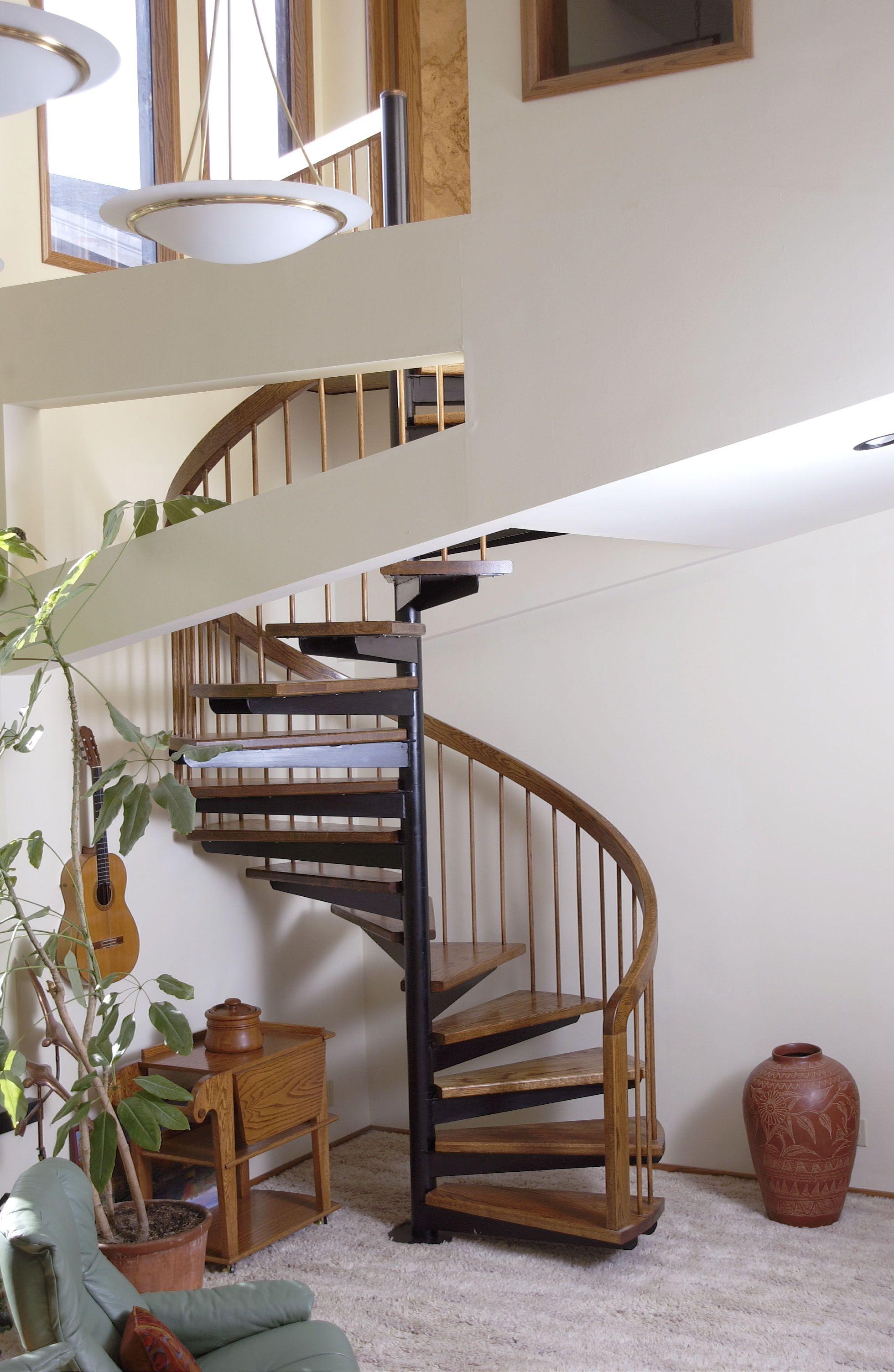 Best Unique Residential Loft Spiral Stair Spiral Staircase 640 x 480