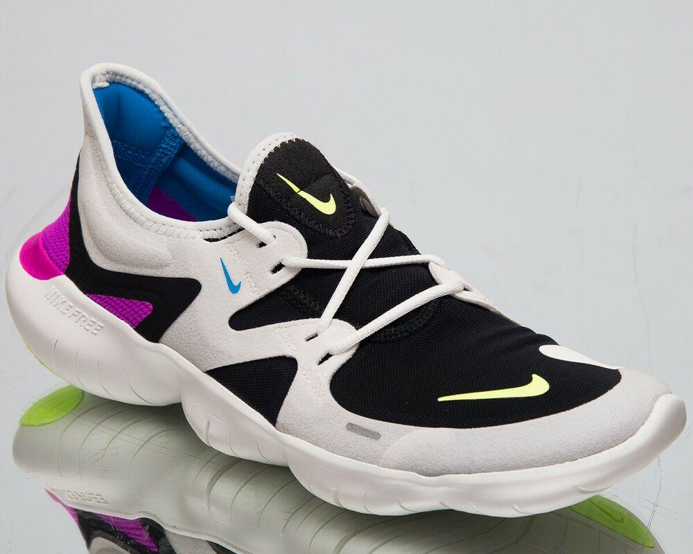 34cce8ffc50 (eBay Sponsored) Nike Free RN 5.0 Men s New Summit White Volt Black Running  Sneakers