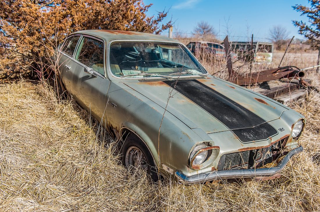 Chevy Vega Gt Barn Find Cars Abandoned Cars Chevy