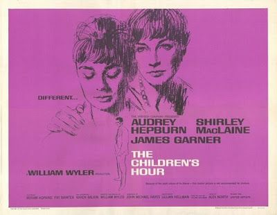 The Children's Hour (1961)  The Children's Hour (1961) UNRATED The Children's Hour is a 1961 American drama film directed by William Wyler. The screenplay by John Michael Hayes is based on the 1934 play of the same title by Lillian Hellman. The film starred Audrey Hepburn, Shirley MacLaine, and James Garner. Release date: December 19, 1961 (USA) Director: William Wyler Running time: 108 minutes #williamwyler