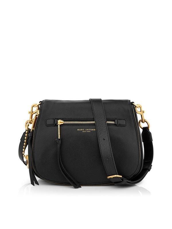 Marc Jacobs Recruit Saddle Bag Black At Very Exclusive Designer Fashion Brands Available Online With Free Next Day Delivery And Returns