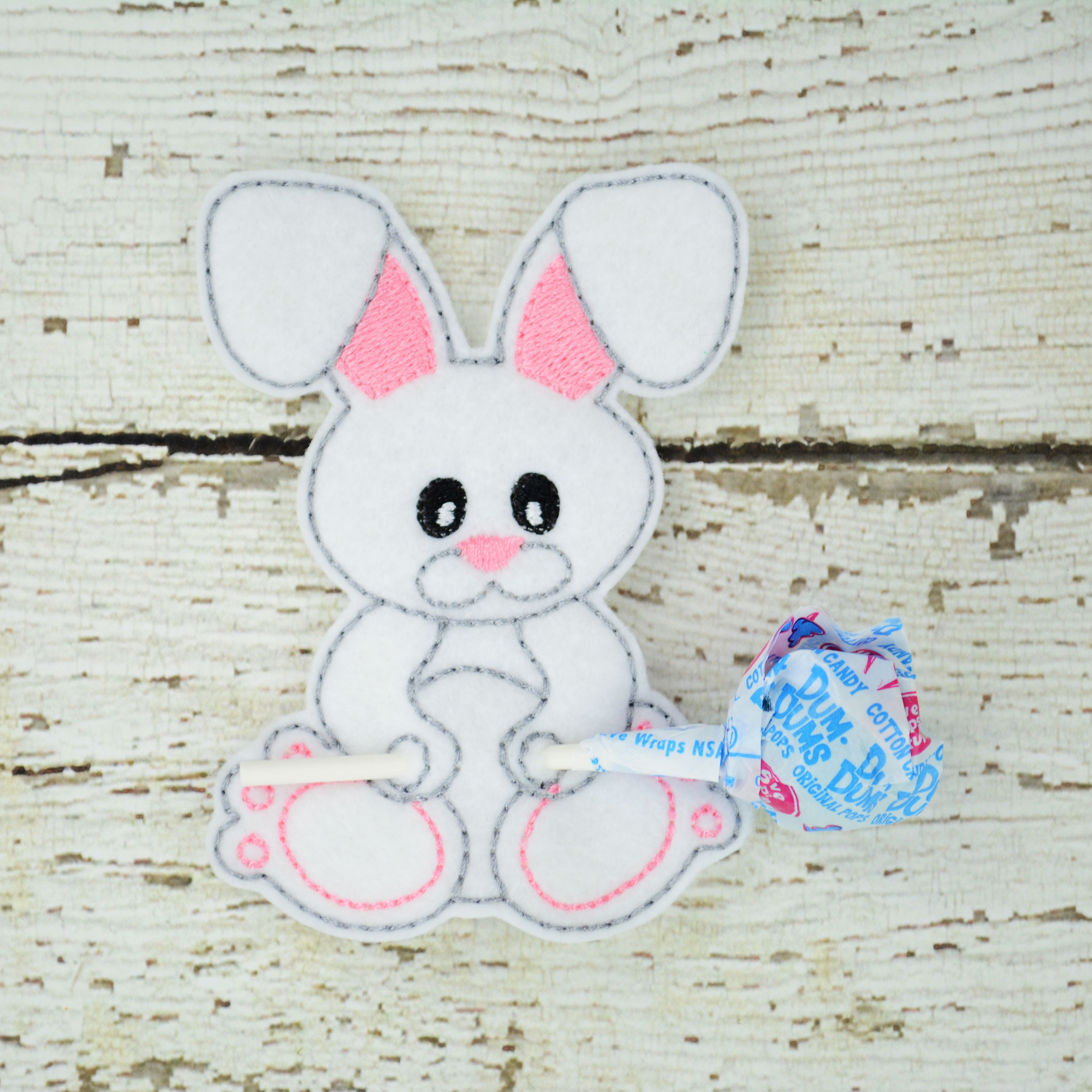 Bunny sucker holder small gift class gift easter gift lollipop bunny sucker holder small gift class gift easter gift lollipop holde party favor thank you gift negle Images