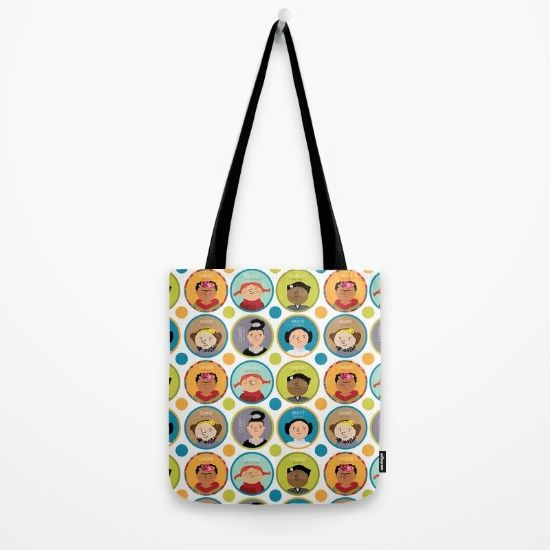 Sale Official Tote Bag - Frida & Audrey Hepburn by VIDA VIDA Cheap Sale Shopping Online Cheap Recommend MphUTlp