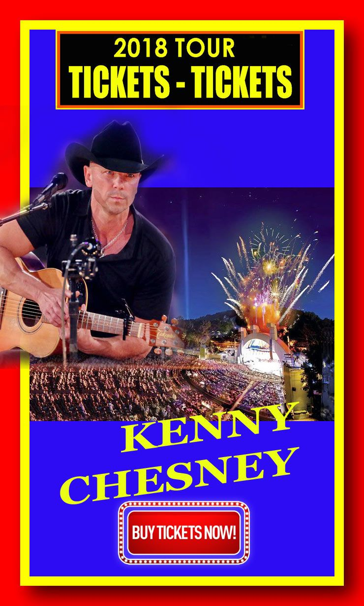 KENNY CHESNEY The easiest way to buy concert tickets