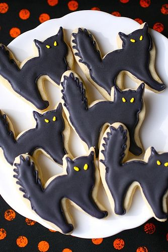 halloween sugar cookies - Halloween Cookies Decorating Ideas