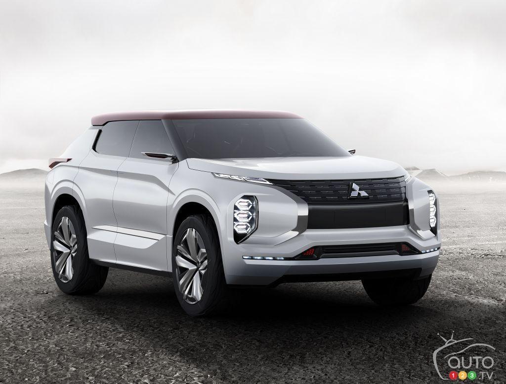 The #Mitsubishi GT-PHEV Concept at the Paris Motor Show | Car News | Auto123