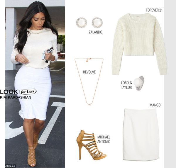 Look For Less Kim Kardashian By Putricp On Polyvore