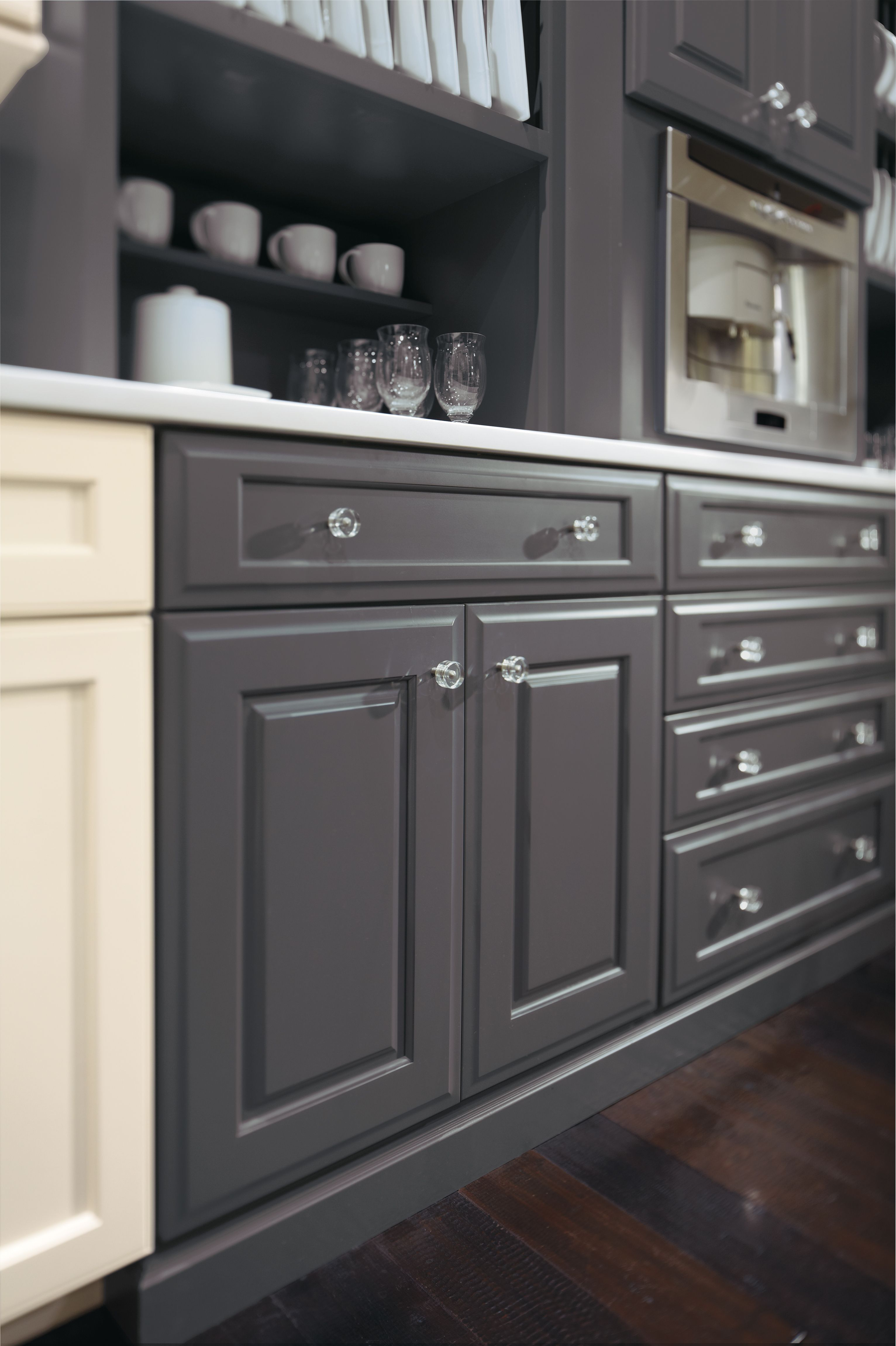 Custom Finish   Contemporary   Kitchen Cabinets   Other Metro   MasterBrand  Cabinets, Inc.