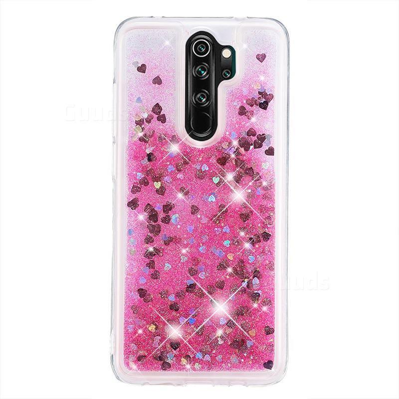 Dynamic Liquid Glitter Quicksand Sequins Tpu Phone Case For Mi Xiaomi Redmi Note 8 Pro Rose Xiaomi Redmi Note 8 Pro Cases Guuds Phone Cases Xiaomi Case