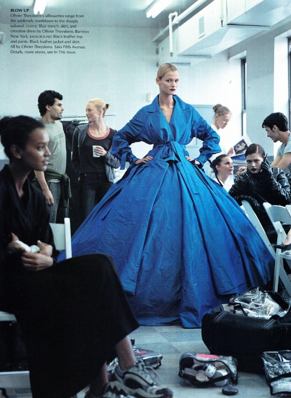 US Vogue July 2000 The New Guard  Photographer: Steven Meisel Stylist: Grace Coddington