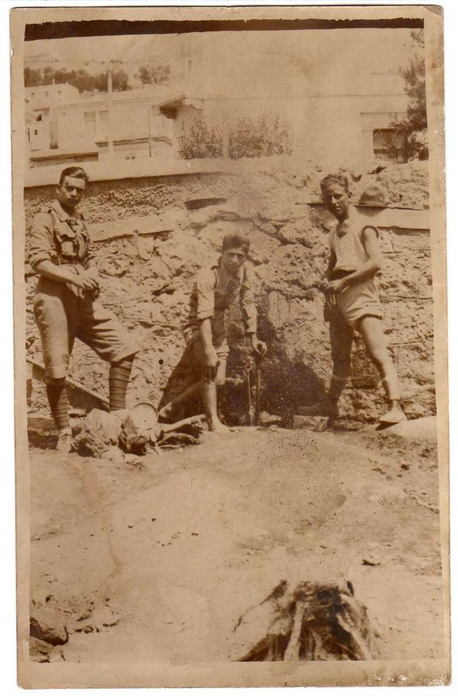 GREECE. SCOUT BOYS ORIG. OLD PHOTO 1920-30