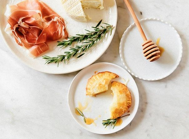 bitesized baked brie with honey  baked brie lobster