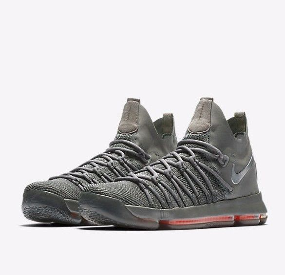brand new 23238 73824 Nike Zoom KD9 Elite TS Basketball Shoes Mens 8 Dark Grey 909139 013 Time  Shine #Nike #BasketballShoes