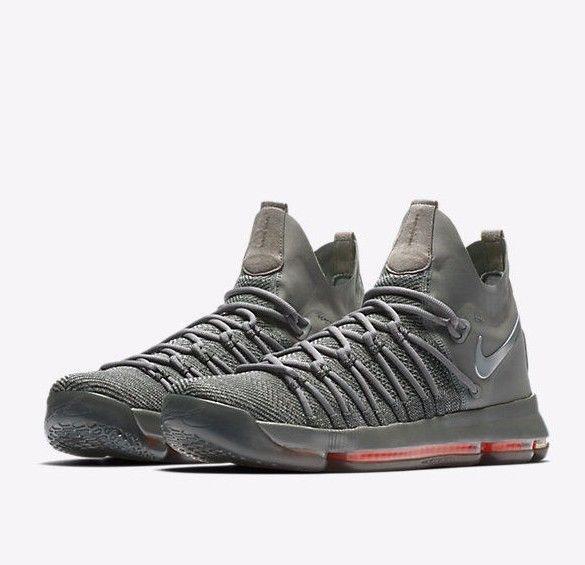 62fed421572e Nike Zoom KD9 Elite TS Basketball Shoes Mens 8 Dark Grey 909139 013 Time  Shine  Nike  BasketballShoes