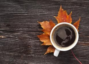 Changement de saison, voici l'automne !  Change of season, fall is setting in ! #coffee #summerisover #fall2014