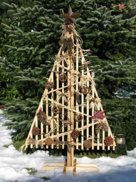 Immagini di  Albero di Natale in legno
