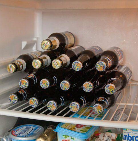 £10.64 Rakastaka Beer Bottle Storage Racks For The Fridge   As Seen On  Dragonsu0027