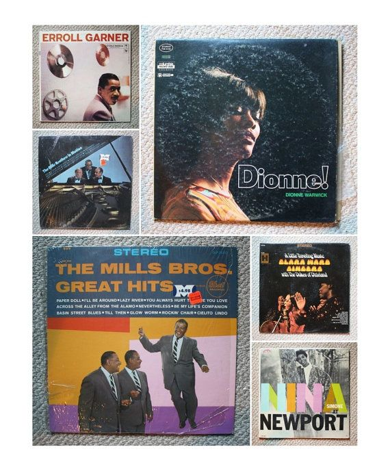 Vintage Music 1950s And 60s 33 Rpm Lps By Thesecretgardenetsy Vintage Music Vinyl Record Album Lps