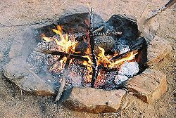 How to Cook Breakfast over an Open Fire