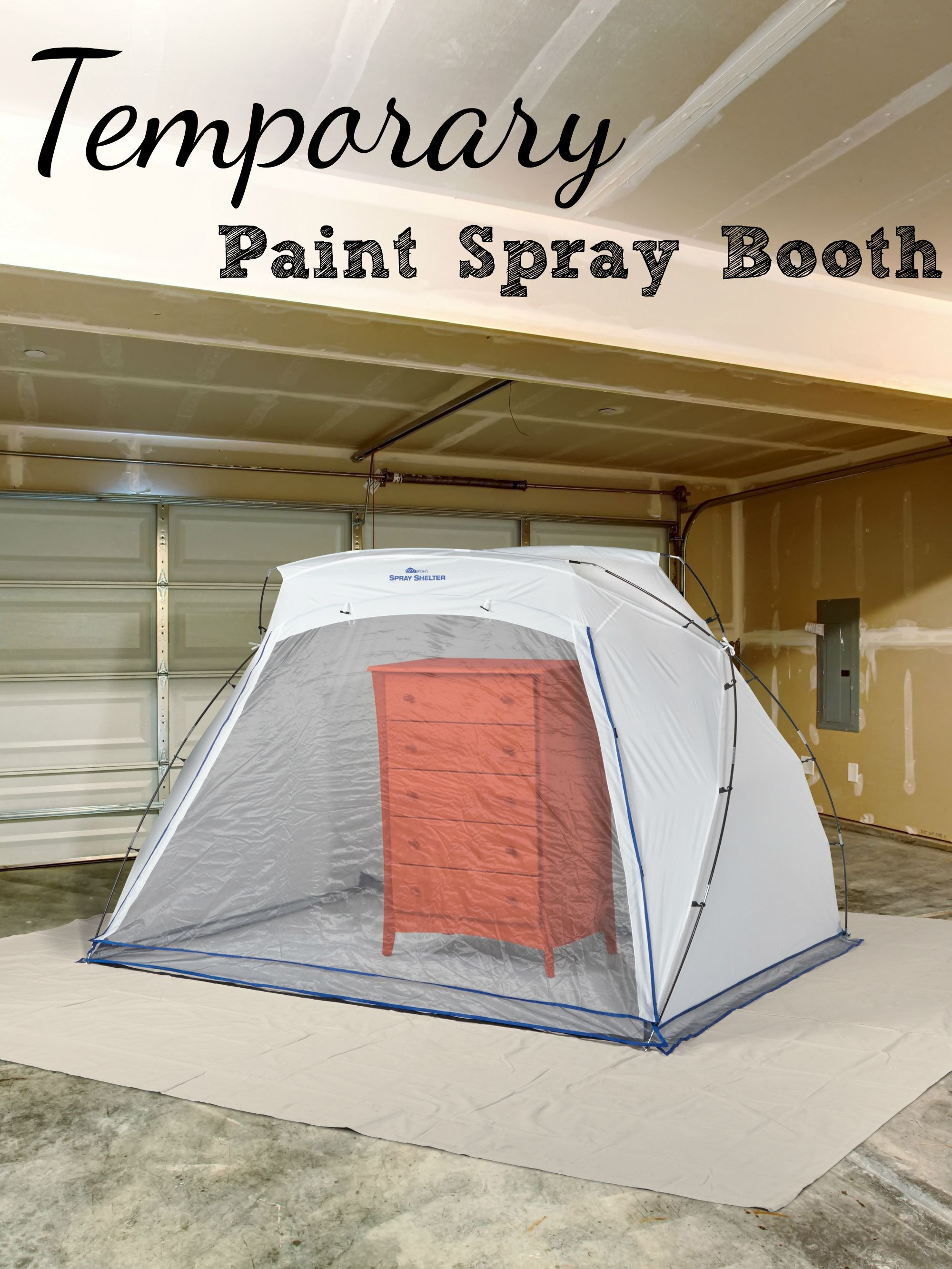 Protect Surrounding Areas While Painting Furniture In Your Garage