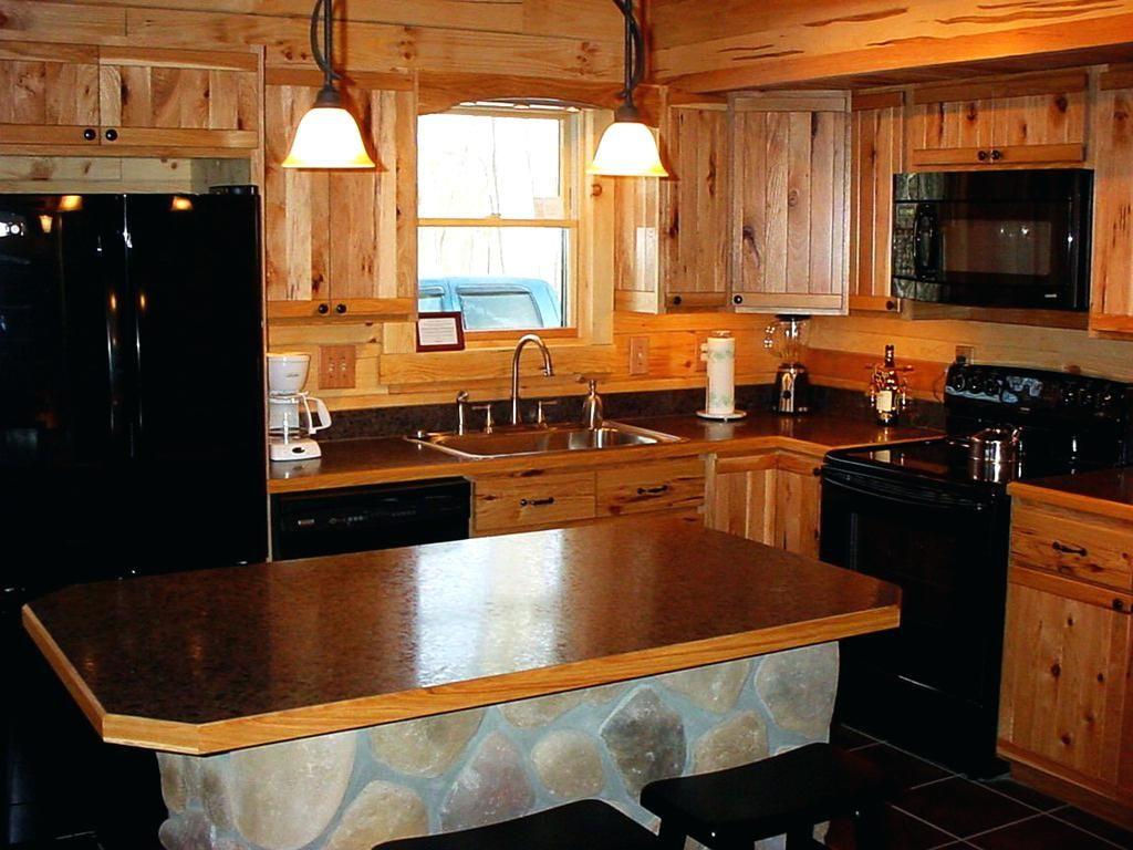 Denver Hickory Schranke Lowes Kuche Menards Rustikal Zum Verkauf Arbeitsplatten Mit Dunkler Arbeitspl Hickory Kitchen Kitchen Cabinets Hickory Kitchen Cabinets