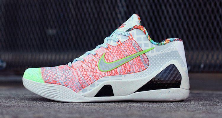 Nike Kobe 9 Elite Low What the Kobe Custom  28561f025
