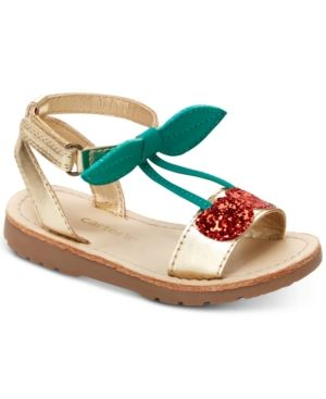 Carter/'s Toddler Girl/'s Cherrie T-Strap Sandals Shoes