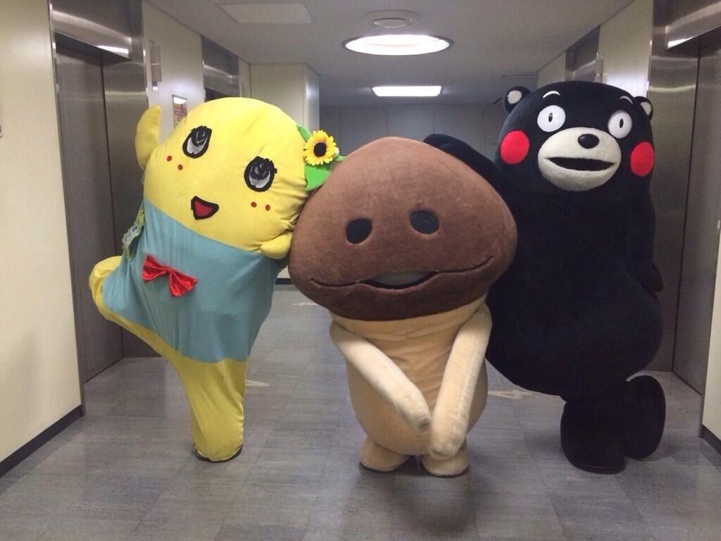 ふなっしーとお友達!Funassyi and friends
