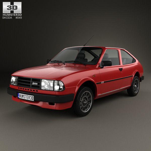 Skoda rapid 1984 3d model from skoda 3d for Garage skoda versailles